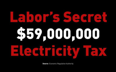 Labor's Shocking Secret Electricity Tax