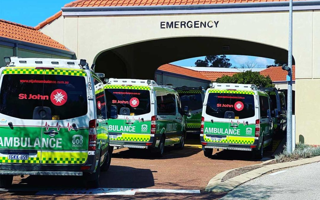 When will the McGowan government wake up to escalating ambulance ramping?