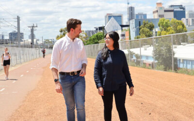 Liberals to sink railway between Mitchell Freeway and Thomas Street as part of bold plan to revitalise Perth CBD